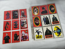 1989 Batman Cards series 1 and series 2 plus stickers