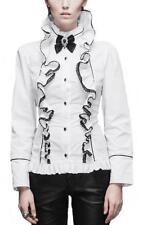 Camisas y tops de mujer de manga larga blusa de color principal blanco