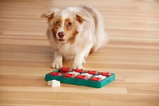 Petstages Cute Puzzle for Dogs- Outward Hound Dog Brick Blue - Nina Ottosson