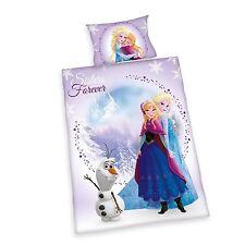 Linge de lit pour enfants Herding Disney Frozen Ice Queen Anna Kristoff 100 x