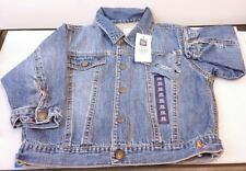 ba3a67f79 Baby Gap Boy Girl Blue Denim Jean Jacket Soft Medium Wash 18-24 Month Infant
