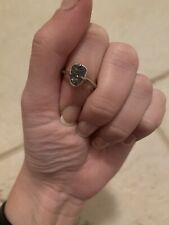 Kendra Scott Silver & Drusy Ring