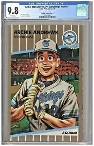 Archie 80th Anniversary Everything's Archie CGC 9.8 Stadium B Card Cover Ripken