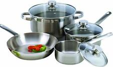 COOKPRO 503 STEEL COOKWARE SET 7PC ENCAPSULATED BASE **FREE SHIPPING