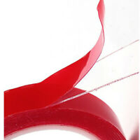 Strong Permanent Double-Sided Sticky Adhesive Glue Tape With Red Liner 3m Repair