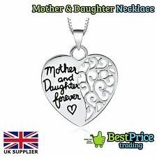 Mother And Daughter Forever Necklace & Pendant *Christmas Mothers Day Mum Gift