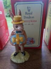 Boxed ROYAL DOULTON Hand Made Pottery MR BUNNYKINS At The Easter Parade MINT Box