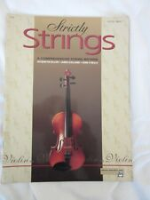 Strictly Strings book one Violin sheet music book