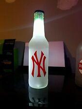 New York Yankees   LED Bottle Light, Pub Bar Neon Man Cave Sign MLB