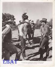 Howard Hawks directs Montgomery Clift Red River  VINTAGE Photo