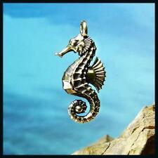 Hippocampus Sea-Horse Handmade Bronze Pendant