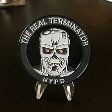 B74 New York Challenge Coin 111th 111 PCT Precinct Police Terminator