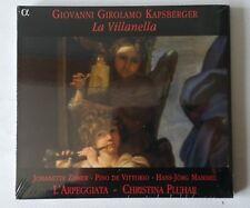 GIOVANNI GIROLAMO KAPSBERGER - LA VILLANELLA - CD 2001 - NEW SEALED