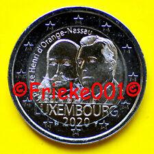 Luxemburg - Luxembourg - 2 euro 2020 comm.(Hendrik Van Oranje Nassau)