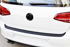 Car Accessories 4D Black Stickers Carbon Fiber Rear Guard Bumper Anti Scratch