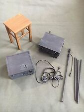 "Dragon 1/6 Scale 12"" WWII German Radio and Chair ONLY from Walter Schmidt NEW"