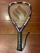 Ektelon Turbo 1100 Level Racquetball Racquet 3 7/8 Grip, Cover & Safety Glasses
