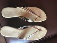 Stunning italian sandals size 6 from Rome worn once briefly