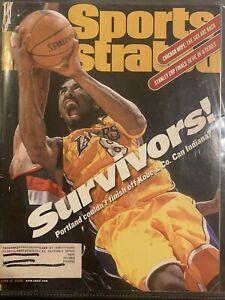 sports illustrated June 12 2000 Survivors! Kobe Bryant Los Angeles Lakers