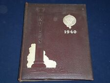 1940 ARIES FORDHAM COLLEGE YEARBOOK - BRONX, NY - GREAT CLASS PHOTOS - YB 751