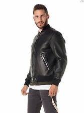 Veste cuir Diesel L-BLUFF, leather jackets Diesel L-BLUFF, NWT #650€ taille L