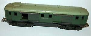 H0 1:87 Rarität Post-&Güterwagen Bakelit von Piko -Alte dunkelgrüne Farbgebung