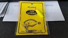 1 Fin Strike Fluke 2/0 Mustad Gold English Style Float Rig #550 DISCOUNTS-READ!