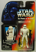 1995  Kenner Star Wars Stormtrooper - POTF 2 Red Card - New & Sealed Figure MOC