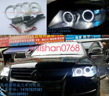 4x Excellent Angel Eyes kit NEW Ultra bright For Volkswagen VW Touareg 2003-2007