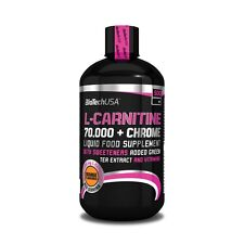 BioTech USA L-Carnitine Liquid 70.000 + Chrome 500ml Green Tea Extract Chromium