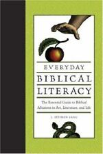 Everyday Biblical Literacy NEW hardcover book 426 pages by J Stephen Lang