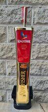 More details for kingfisher  beer tap handle / font home bar man cave