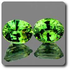 GRANATE DEMANTAOIDE. 0.77 cts. 2 piezas. IF. Montes Urales, Rusia.TMPL_SKU002180