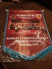 Burnley FC Play Off Final Pennant