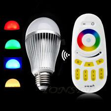 2.4G LED Bulb CF Wireless GU10 CGB White LED Light Touch Cemote Control Light C