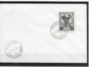 (6) Yugoslavia Trieste1951 Anniversaries FDC SG54