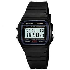 Casio F91W Classic Digital Chronograph Watch Black