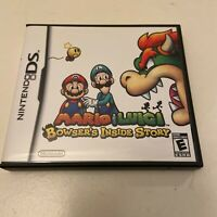 Mario & Luigi: Bowser's Inside Story (Nintendo DS, 2009) - Complete in Box