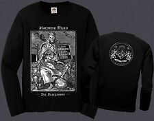 MACHINE HEAD-The Blackening- heavy metal band,T-shirt long sleeve-sizes:S to XXL