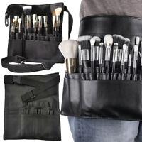 Cosmetic Brushes Case Tool Makeup Bag Pocket PU Pocket Strap Holder Belt