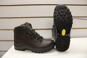 Grisport Lady Hurricane Brown Leather Waterproof Walking Trail Boots UK 5 EU 38