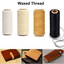 Durable DIY Handicraft Hand Stitching Sewing Line Leather Cord Waxed Thread