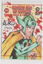 CLASSIC GOLDEN AGE OF COMICS SKETCH CARD AURO 1945 SKETCHED BY ANTHONY WHEELER