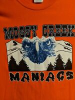 Vtg Carson Newman college TN Mossy Creek Maniacs Band Shirt Rare 2xl XXL foggy