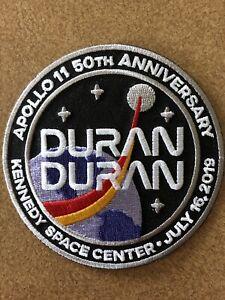 Duran Duran Logo NASA Apollo 11 50th Anniversary Patch Free ship Iron Or Sew On!