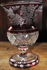 Vase Vintage Original Crystal & Cut Glass Decanters