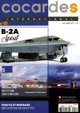 COCARDES international N°18 (revue maquettes avions) (06-07/2021)