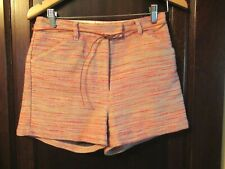 Tweed SESSUN  SHORTS---Cotton Knit SZ 38 Small US SZ 4 Pink