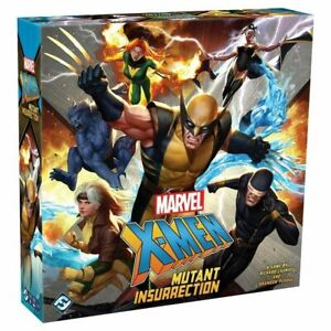 MARVEL X-MEN MUTANT INSURRECTION BOARD GAME - FACTORY SEALED NEW
