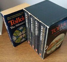 J.R.R. Tolkien PB book lot Lord of the Rings box set with Hobbit Silmarillion